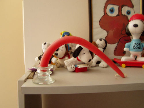 Snoopy orgy