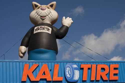 Giant Inflatable Cat